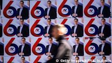 Serbien Präsidentschaftswahlen SNS Poster