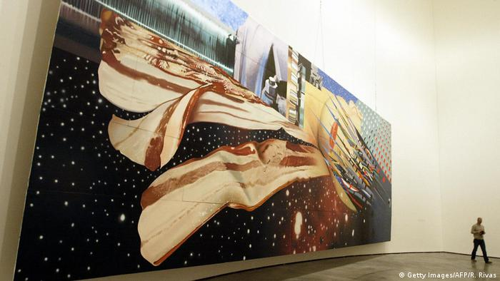 James Rosenquist painting Star Thief (Getty Images/AFP/R. Rivas)