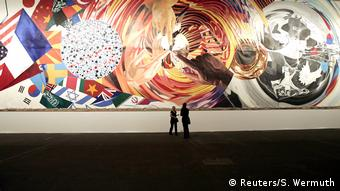 Basel Art 37 James Rosenquist (Reuters/S. Wermuth)