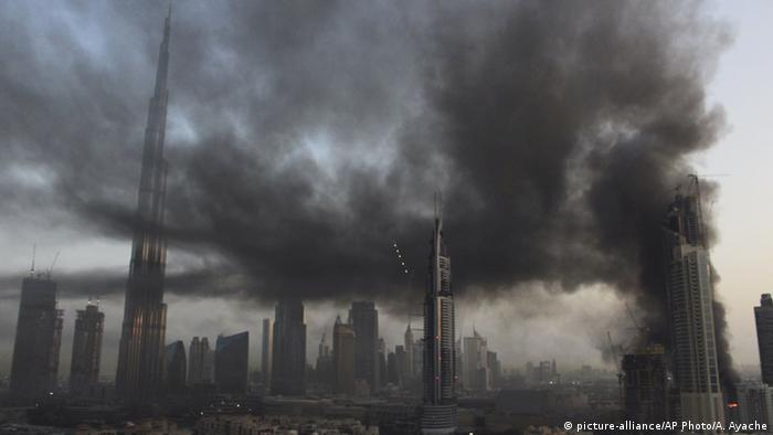 Dubai Feuer (picture-alliance/AP Photo/A. Ayache)