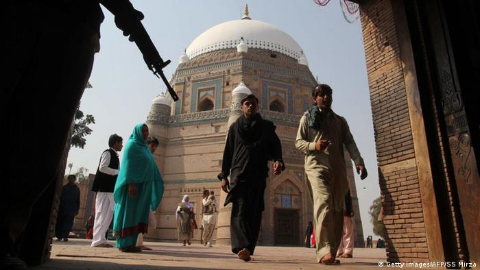 Pakistan Grab von Shah Rukn-e-Alam in Multan (Getty Images/AFP/SS Mirza)
