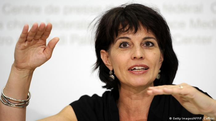 Doris Leuthard (Getty Images/AFP/F. Coffrini)