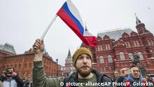 Russland Protest
