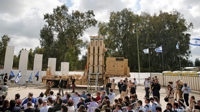 Israel vervollständigt seine Raketenabwehr mit «David's Sling»