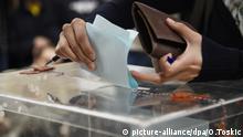 Serbien Präsidentschaftswahl