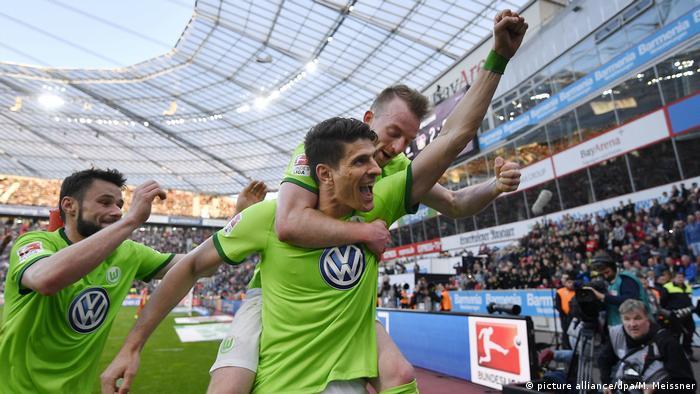 Deutschland Bayer Leverkusen gegen VfL Wolfsburg | Mario Gomez