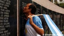 Buenos Aires Gedenken Jahrestag Falklandkrieg