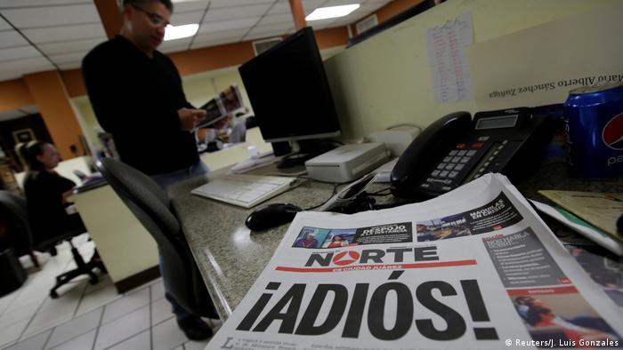 Ciudad Juarez El Norte Zeitung Einstellung