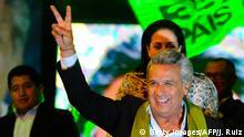 Ecuador Präsidentschaftswahlen Jubel Lenin Moreno