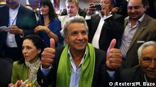 Ecuador Lenin Moreno gewinnt Präsidentenwahl in Quito