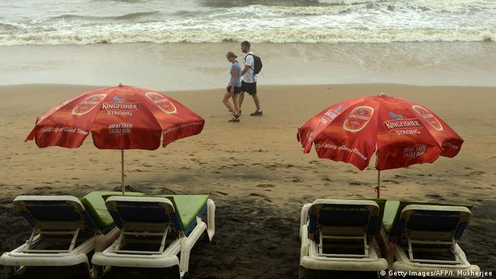 Indien Strand in Goa (Getty Images/AFP/I. Mukherjee)