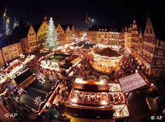 Feira de Natal em Frankfurt