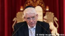 Deutschland Josef Schuster Präsident des Zentralrats der Juden