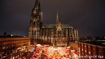 Weihnachtsmarkt am Dom in Köln