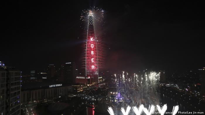 Südkorea Lotter World Tower