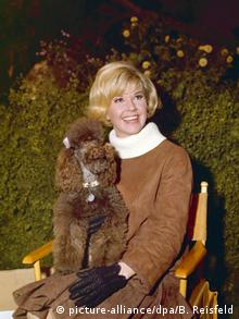 Doris Day with a poodle (picture-alliance/dpa/B. Reisfeld)