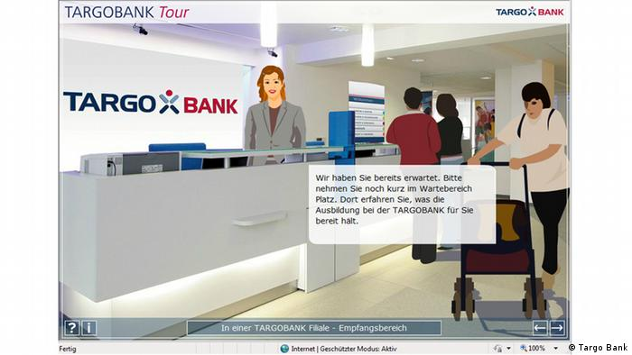 Targo Bank Tour Angebot Screenshot Webseite (Targo Bank)