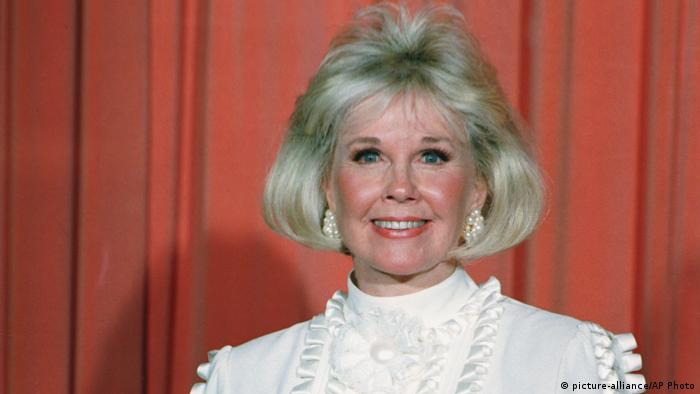 Doris Day at the Golden Globes in 1989 (picture-alliance/AP Photo)