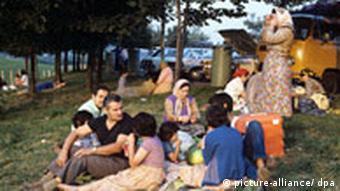 Gastarbeiter aus Jugoslawien in Deutsschland (picture-alliance/ dpa)