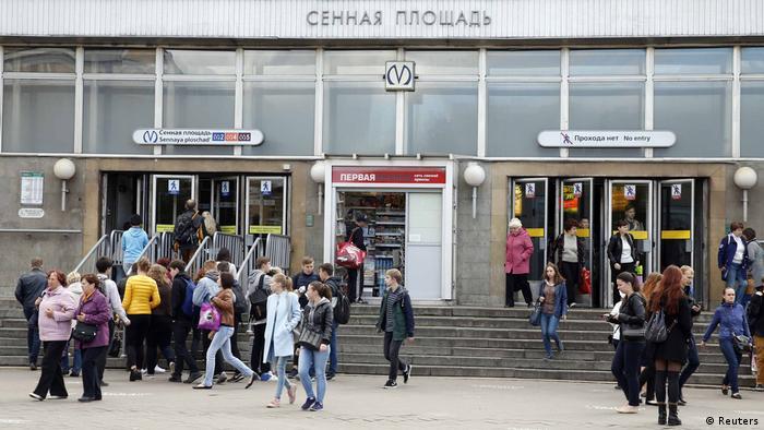 Russland Explosion Metro in Sankt Petersburg (Reuters)