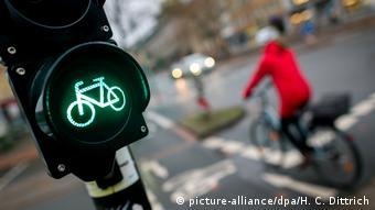 Πράσινο φως μόνο για τα ποδήλατα στο κέντρο της πόλης;