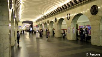 В петербургском метро