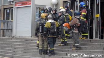 Πολλοί σταθμοί του μετρό της Αγίας Πετρούπολης εκκενώθηκαν μετά την έκρηξη