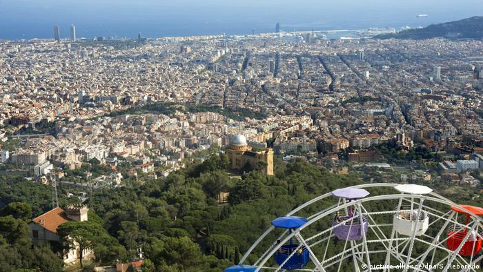 Tibidabo hill in Barcelona (picture-alliance/dpa/S. Reboredo)
