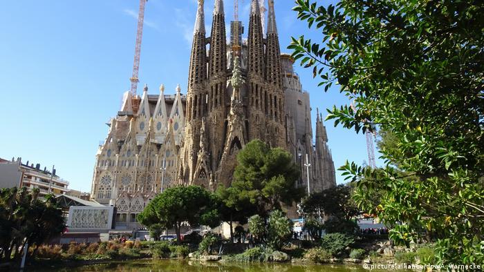 Igreja Sagrada Família, em Barcelona