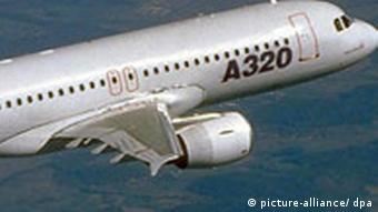 A320 in flight