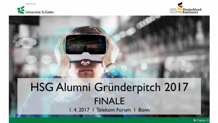 Avrios CEO Andreas Brenner HSG Alumni Gründer Pitch 2017 in Bonn (Patric Fouad)
