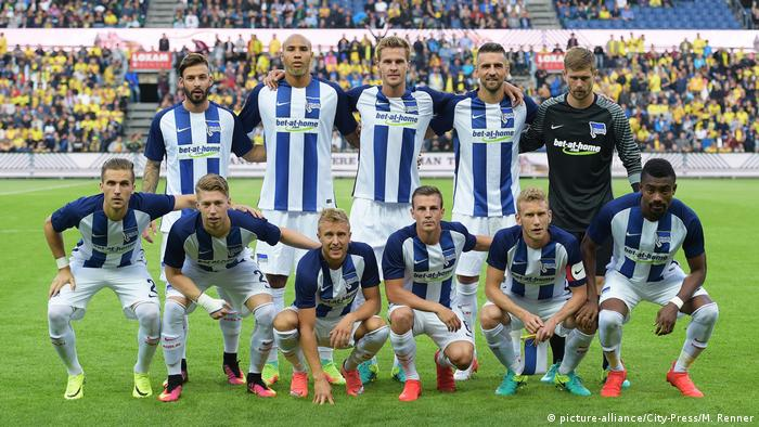 team photo of Hertha BSC(picture-alliance/City-Press/M. Renner)