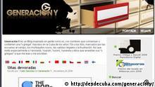 Screenshot von http://desdecuba.com/generaciony/
