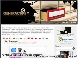 Блог Поколение Y Йоани Санчес