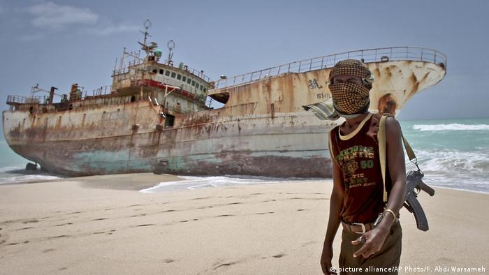 Somalia Piraten