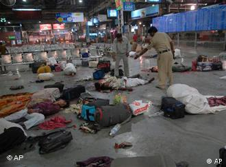 At least 166 people were killed in the 2008 Mumbai attacks