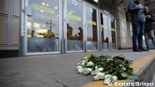 Russland Viele Tote bei Terroranschlag auf U-Bahn in St. Petersburg