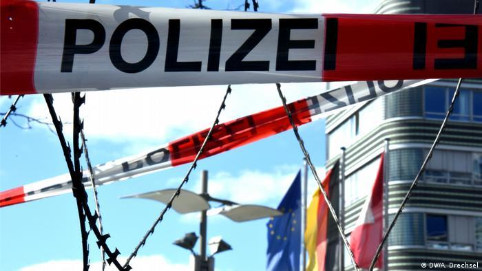 Deutschland G20-Vorbereitungen in Hamburg - Polizeipräsidium