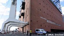04.2017 Viele Hamburger Sehenswürdigkeiten werden schon drei Monate vor dem G20-Gipfel von der Polizei bewacht
