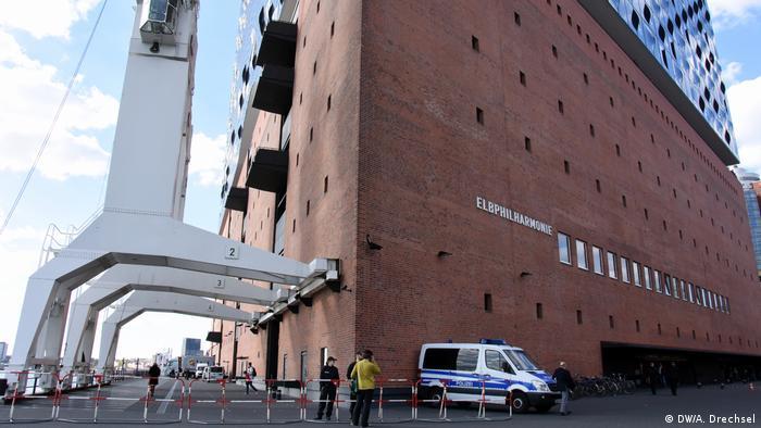 Deutschland G20-Vorbereitungen in Hamburg - Elbphilharmonie