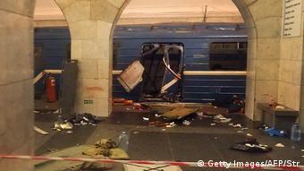 После теракта в санкт-петербургском метро 3 апреля 2017 года