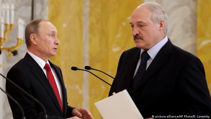 Лукашенко вбачає небезпеку у ситуації на кордоні з Росією