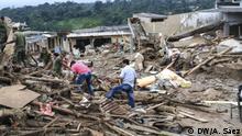 Kolumbien Bergungsarbeiten und Wiederaufbau in Mocoa