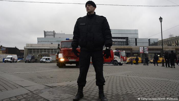 после взрыва в метро в Петербурге
