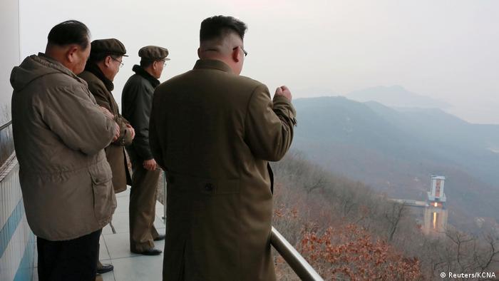 Nordkorea Kim Jong Un in Pyongyang (Reuters/KCNA)