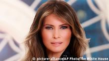 USA First Lady Melania Trump im Weißen Haus in Washington