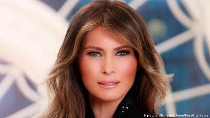 USA First Lady Melania Trump im Weißen Haus in Washington (picture-alliance/AP Photo/The White House)