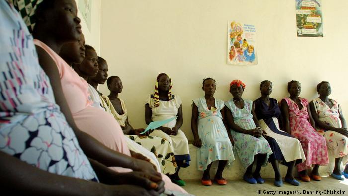 Äthiopien Schwangere sudanesische Frauen in einer Klinik in Bonga (Getty Images/N. Behring-Chisholm)