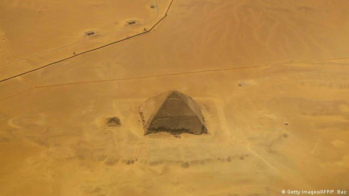 Ägypten Neue Funde in Dahschur Knickpyramide (Getty Images/AFP/P. Baz)