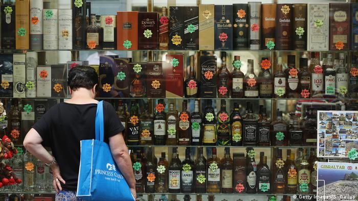 Gibraltar Whiskeyladen (Getty Images/S. Gallup)